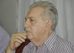 Carlos Orione presidente da Federação Mato-grossense de Futebol (Foto: Robson Boamorte)