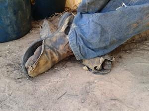 Trabalhadores tinham cinco horas de descanso por dia (Foto: Michelly Oda / G1)