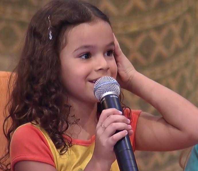 Bruna Marquezine no 'Gente Inocente', há 14 anos (Foto: TV Globo)