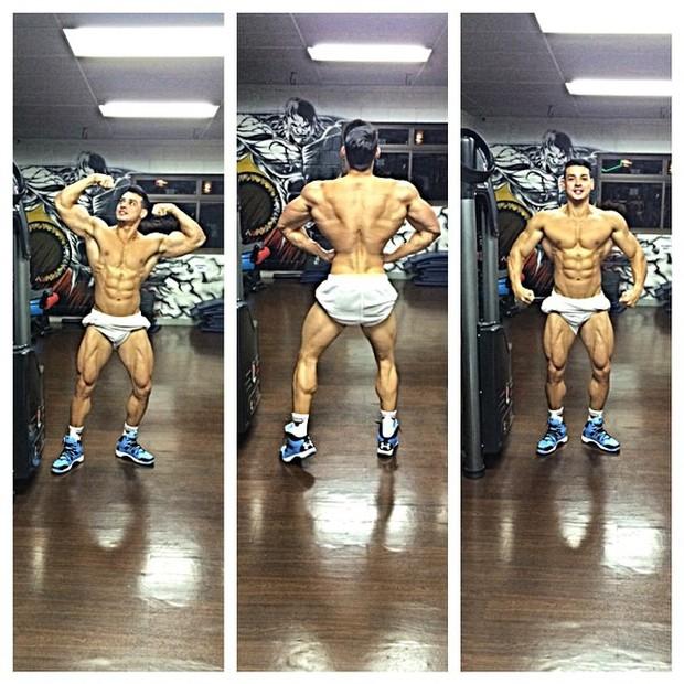 Felipe Franco posa sarado (Foto: Reprodução/Instagram)