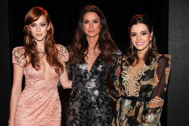 Sophia Abrahão, Thaila Ayala e Giovanna Lancellotti (Foto: Manuela Scarpa / Foto Rio News)