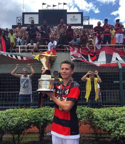 Patrick, Flamengo (Foto: Divulgação)