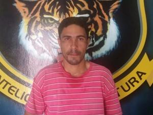 Cofrinho foi preso no bairro União, zona Oeste de Boa Vista (Foto: Dicap/Divulgação)