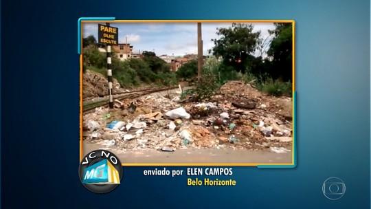 Bota-fora causa transtorno no bairro Nova Cintra, em Belo Horizonte