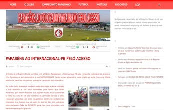 Pela internet, Esporte de Patos ironiza desclassificação do rival Nacional