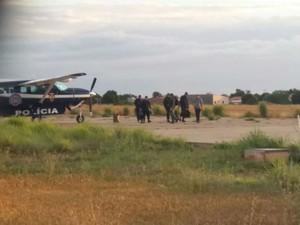 Graer foi acionado para ajudar na busca pelos bandidos (Foto: Blog do Sigi Vilares)