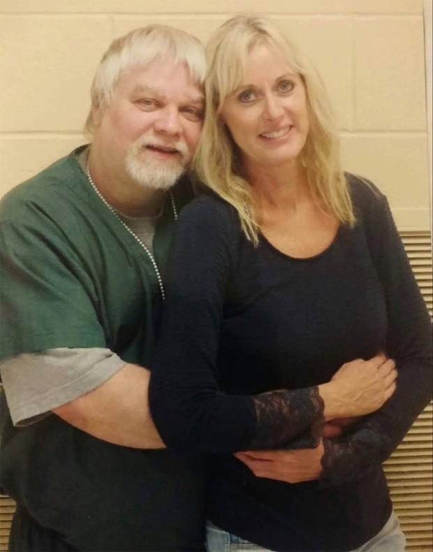 Steven Avery e a noiva, Lynn Hartman (Foto: Reprodução)