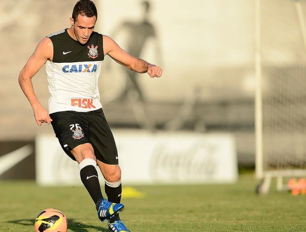 Renato Augusto treino Corinthians (Foto: Mauro Horita )