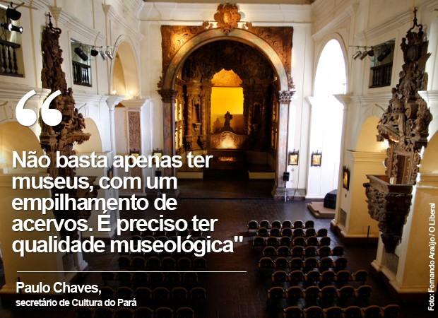 O Museu de Arte Sacra (MAS) fica na igreja de Santo Alexandre, em Belém  (Foto: Fernando Araújo / O Liberal)