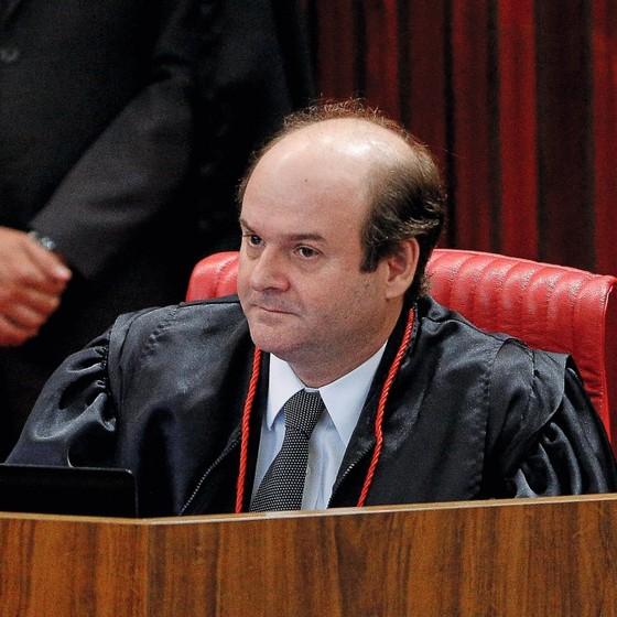 O ministro do TSE Tarcisio Vieira (Foto: Sérgio Lima/ Época)