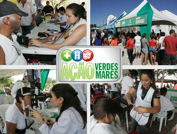 Ação Verdes Mares realiza atividades todos os meses. (Foto: Divulgação/TV Verdes Mares)