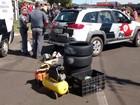 Polícia apreende 390 produtos na 'Feira do Rolo' em Franca, SP