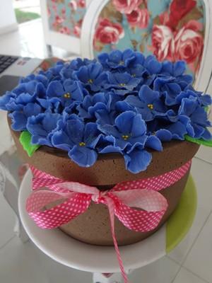 Criatividade não falta nos bolos da empresária (Foto: Elisângela Ambrósio/Arquivo Pessoal)