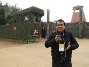 """Equatorianos revelam surpresa com fase de Erazo no Fla: """"Vai resgatar futebol"""" (Foto: Laion Espíndula/GloboEsporte.com)"""