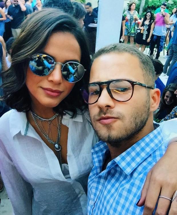 Bruna Marquezine e Victor Oliveira (Foto: Instagram / Reprodução)
