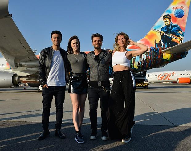 Sophia Abrahão, Sergio Malheiros, Giovanna Ewbank e Bruno Gagliasso (Foto: João Sal/Divulgação)