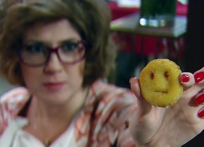 Zorra deste sábado, 14/11, traz brincadeira com batata sorriso (Foto: TV Globo)