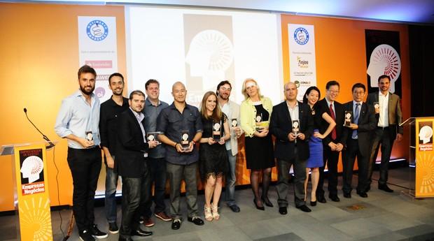 Vencedores do Prêmio Empreendedor de Sucesso 2014 (Foto: Sylvia Gosztonyi)