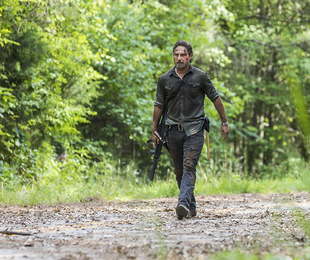 Andrew Lincoln em 'The walking dead' | Jackson Lee Davis/AMC