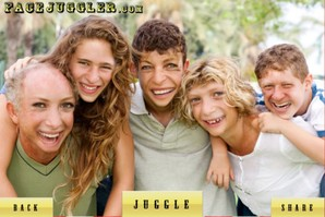 face juggler