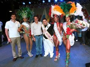 ee6d89ee88c05 Rei Momo e Rainha do Carnaval recebem a chave da cidade de Campinas (Foto