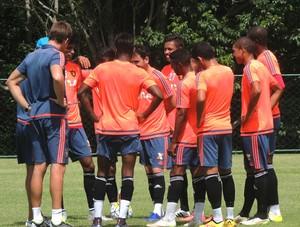 Treino do Sport (Foto: Lucas Liausu (GloboEsporte.com))