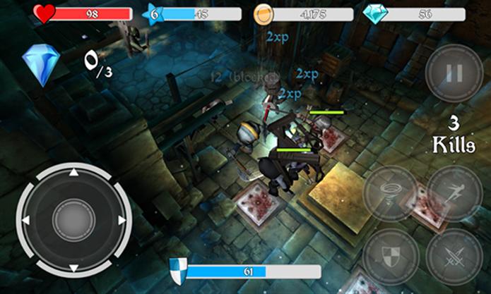 Medieval Apocalypse une bons gráficos e inúmeros desafios (Foto: Divulgação/Windows Phone Store)