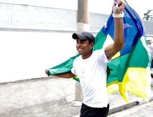 Jorge Henrique comemoração bandeira Sergipe Corinthians (Foto: Ale Frata / Ag. Estado)
