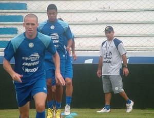 Lajeadense treina com foco no Inter, na quarta (Foto: Willian Nascimento / Lajeadense)
