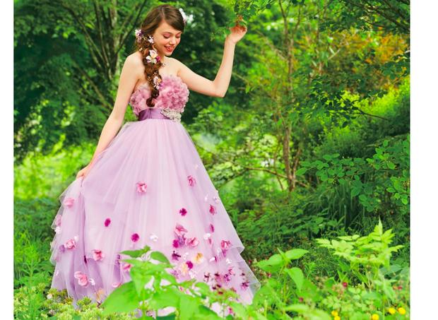 Vestido inspirado na Rapunzel (Foto: Divulgação)