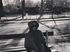 Rafaella Santos reclama do frio em Paris