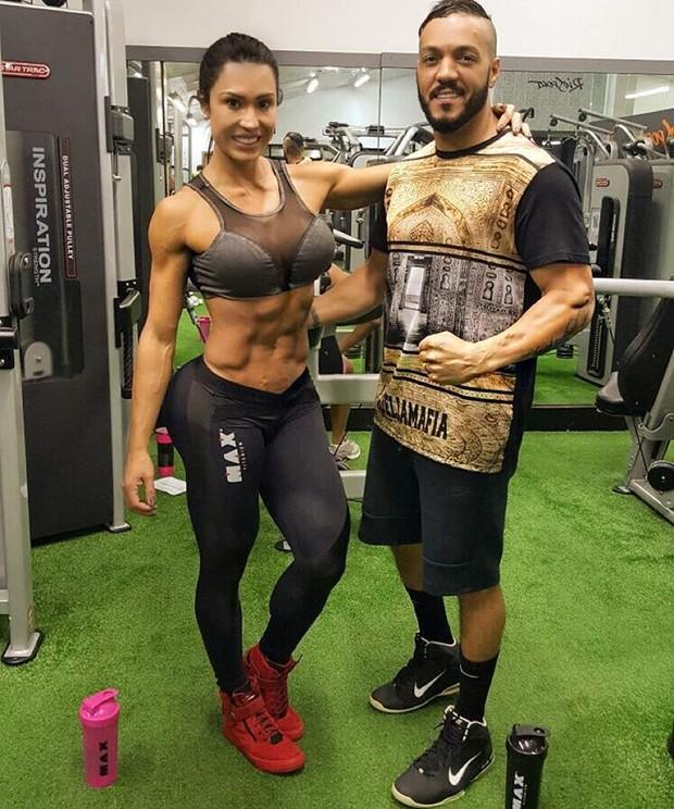 Gracyanne Barbosa e Belo (Foto: Instagram)