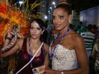 Ana Paula Evangelista desfila com campeãs: 'Sou uma musa pé quente'