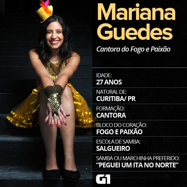 Marina Guedes, cantora do bloco Fogo e Paixão, vive a música 24 horas por dia (Foto: Alexandre Durão/ G1)
