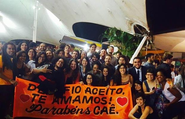 Formatura de turma de Ciência Política da UnB. (Foto: Divulgação)