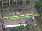 Manifestantes desocupam prédio do Ministério da Cultura no Centro do RJ