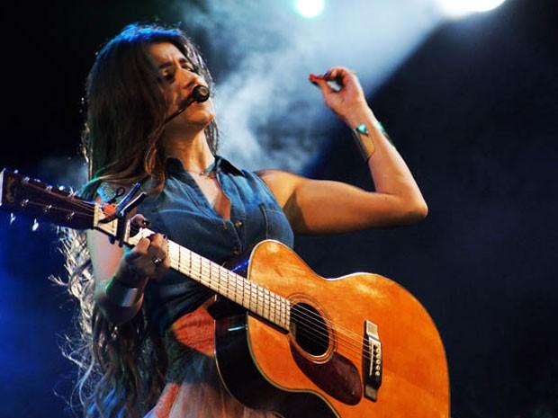 Paula Fernandes, Festival de Inverno de Vitória da Conquista, na Bahia (Foto: Egi Santana/G1 BA)