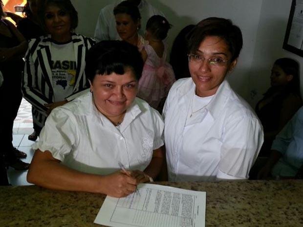Casamento aconteceu na tarde desta sexta-deira em São José de Mipibú (Foto: Jorge Talmon/G1)