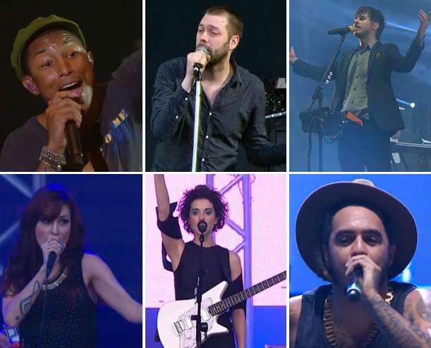 Pharrell Willians, Calvis Harris, Kasabian e muito mais no Lollapallooza 2015 (Foto: Gshow)