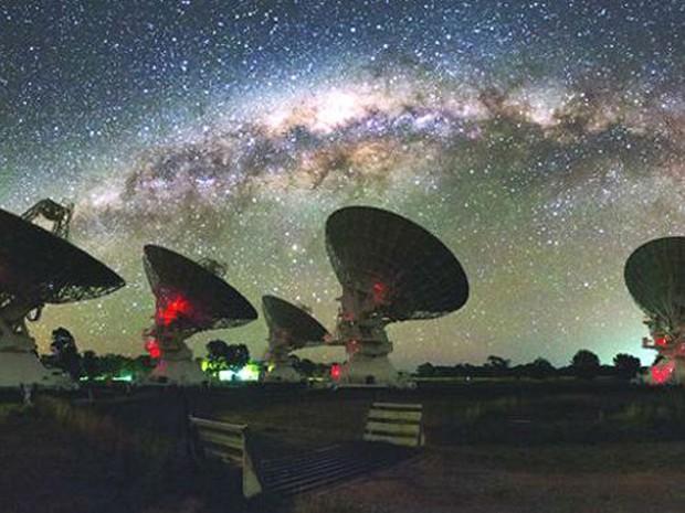 Estrutura misteriosa foi detectada pela primeira vez há 30 anos (Foto: BBC/Alex Cherney)