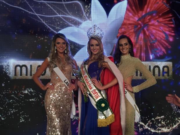 Miss Santa Catarina 2015 Sabrina Meyer (Foto: Túlio Cordeiro/Divulgação)