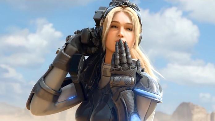 Nova é uma das principais personagens em Heroes of the Storm (Foto: Divulgação)