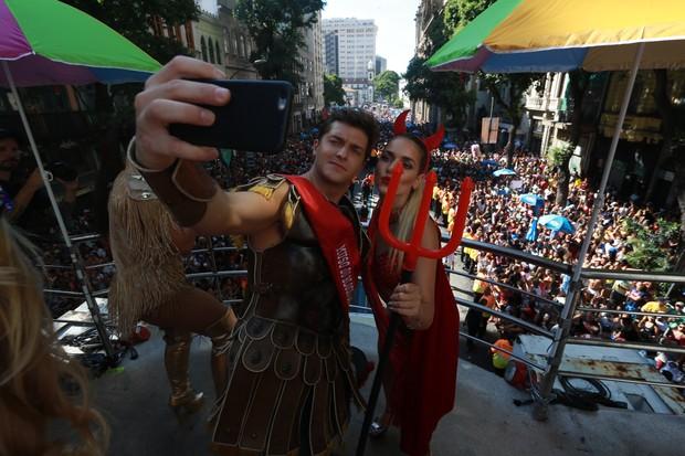 Klebber Toledo e Monique (Foto: Dilson Silva/AgNews)