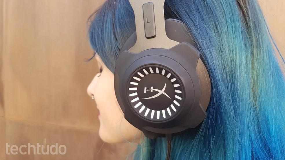 Headset da HyperX traz o conforto como um dos atributos (Foto:  João Gabriel Balbi/TechTudo)