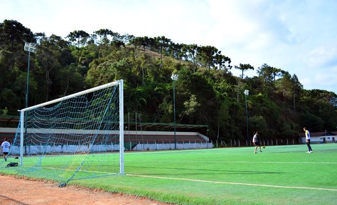 Campo Abernéssia - Campos do Jordão - Seleção Brasileira de 1962 (Foto: Danilo Sardinha/GloboEsporte.com)
