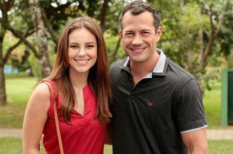 Paolla Oliveira e Malvino Salvador (Foto: TV Globo)