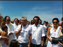 Com Marcos Palmeira, irmão de Nizo Neto batiza filha e reza pelo sobrinho