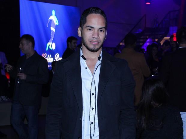 Ricardo de Souza, ex-namorado de Geisy Arruda, em evento em São Paulo (Foto: Thais Aline/ Ag. Fio Condutor)