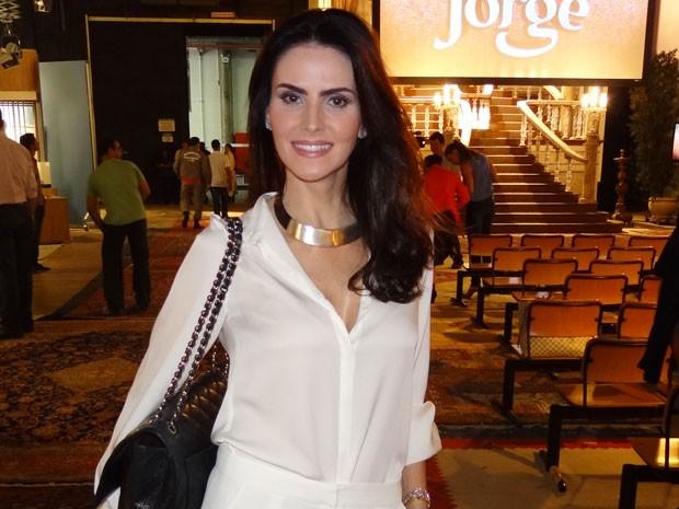Lisandra volta às novelas depois de 14 anos afastada das telinhas (Foto: Salve Jorge/TV Globo)