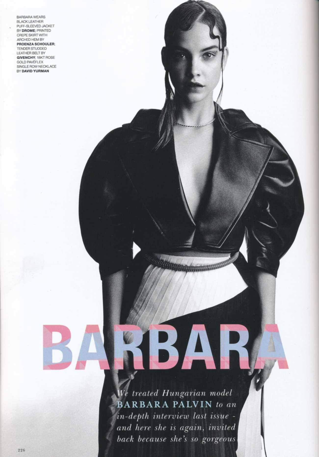 Sexy! Barbara Palvin aparece completamente nua em ensaio  (Foto: Reprodução/Instagram)